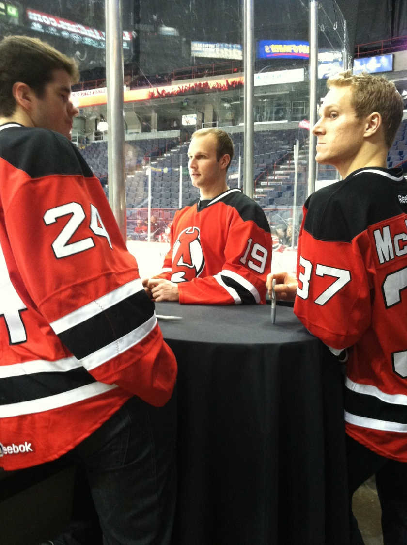 Eric Gelinas, Mike Sislo, Chris McKelvie