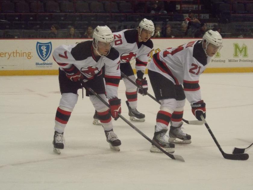 Brandon Burlon, Riley Boychuk, Artem Demkov