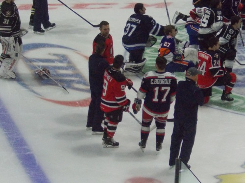 Thompson, Whitney, and Chris Bourque