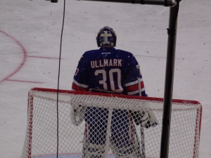 The Top Goaltender, Linus Ullmark (Rochester). Minus the sweet Minion mask.
